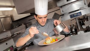 Le chef Nicolas Tougard